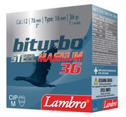 Lambro Biturbo Steel 12/76  36 gr. 3,3mm